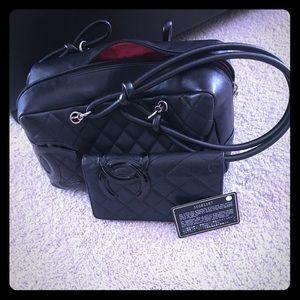 Chanel handbag and matching wallet
